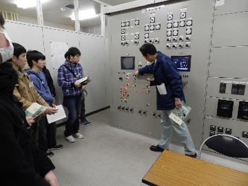 太秦天神川駅の変電所を見学