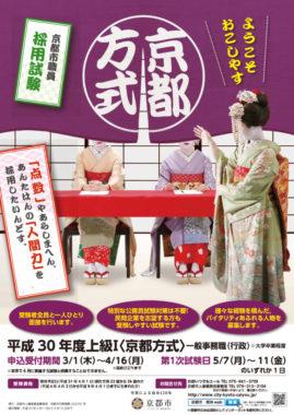 京都方式ポスター